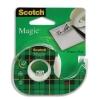 Scotch Magic Tape on Dispenser 19mmx25m Ref 8-1925D