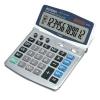 Aurora Calculator Euro Desktop Battery/Solar-power 12 Digit 4 Key Memory 165x228x32mm Ref DT401