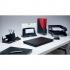 Rexel Agenda2 Risers W45xD6xH70mm Charcoal Ref 2101019 [Pack 5]