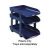 Rexel Agenda2 Risers W45xD6xH70mm Blue Ref 2101020 [Pack 5]