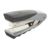 Rexel Centor Half Strip Stapler Vertical 65mm Throat 26/6 24/6 for 20 Sheets Silver and Black Ref 2100595