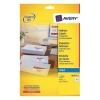 Avery Quick DRY Addressing Labels Inkjet 18 per Sheet 63.5x46.6mm White Ref J8161-25 [450 Labels]