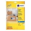 Avery Quick DRY Addressing Labels Inkjet 4 per Sheet 139x99.1mm White Ref J8169-25 [100 Labels]