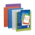 Elba Polyvision Presentation Ring Binder Polypropylene 4 Ring 25mm A4 Blue Ref 100201431 [Pack 12]