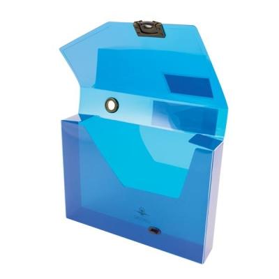 Concord Document Box Polypropylene 60mm Spine A4 Blue Ref 7133-PFL