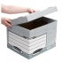 Bankers Box by Fellowes System Standard Storage Box Foolscap W333xD390xH285mm Ref 00810-FF [Pack 10]