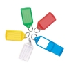Key Hanger Sliding with Fob Label Area Tag Size Medium Assorted [Pack 10]
