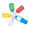 Key Hanger Sliding with Fob Label Area 52x32mm Tag Size Large 73x38mm Assorted [Pack 50]