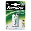 Energizer Battery Rechargeable Advanced Size 9V NiMH 175mAh HR22.5V Ref 633003