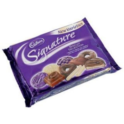 Cadbury Signature Biscuit Collection Variety Pack 250g Ref 15388