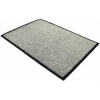Floortex Door Mat Dust and Moisture Control Polypropylene 600mmx900mm Black and White