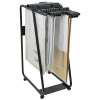 Arnos Hang-A-Plan General Front Load Trolley for Approx 20 Binders A0-A1-A2-B1 W550xD800xH1335mm Ref D060