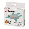 Rexel Odyssey Multipurpose Staples 9mm [for Odyssey Stapler] Ref 2100050 [Pack 2500]