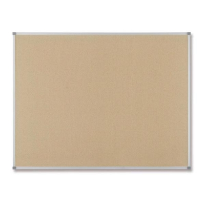 Nobo Classic Noticeboard Cork with Fixings and Aluminium Trim W900xH600mm Ref 30530320
