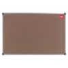 Nobo Classic Office Noticeboard Cork with Fixings and Aluminium Trim W1200xH900mm Ref 30530321