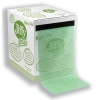 Jiffy Green Bubble Wrap Dispenser Box for Packing Recycled Polythene Wrap 300mmx50m Ref 43010