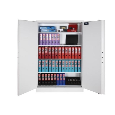 Phoenix Firechief Security Cupboard Fire Resistant 764 Litre Capacity 230kg W1200xD525x1885mm Ref FS1613K