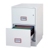 Phoenix Firefile Filing Cabinet Fire Resistant 2 Lockable Drawers 145Kg W530xD675xH805mm Ref 2242