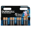 Duracell Ultra Power MX1500 Battery Alkaline 1.5V AA Ref 81235497 [Pack 8]