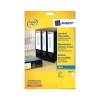 Avery Filing Labels Inkjet Lever Arch 4 per Sheet 200x60mm Ref J8171-25 [100 Labels]