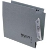 Rexel Multifile Lateral Suspension File Heavyweight Manilla V-Base W330mm Green Ref 78080 [Pack 50]