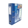 Elba Lever Arch File with Clear PVC Cover 70mm Spine A4 Blue Ref 100082303 [Pack 10]