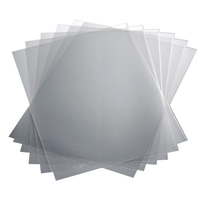 Report Covers Polypropylene Capacity 100 Sheets A3 Fold to A4 Economy Clear [Pack 50]