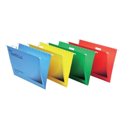 Rexel Crystalfile Flexifile Tabs Plastic For Suspension Files Clear Ref 3000057 [Pack 50]