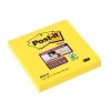 Post-it Super Sticky Removable Notes Pad 90 Sheets 76x76mm Yellow Ref 654S [Pack 12]