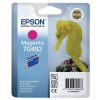 Epson T0483 Inkjet Cartridge Seahorse Page Life 400pp Magenta Ref C13T04834010