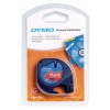 Dymo LetraTag Tape Plastic 12mmx4m Cosmic Red Ref 91203 S0721630