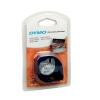 Dymo LetraTag Tape Metallic 12mmx4m Metallic Silver Ref 91208 S0721730