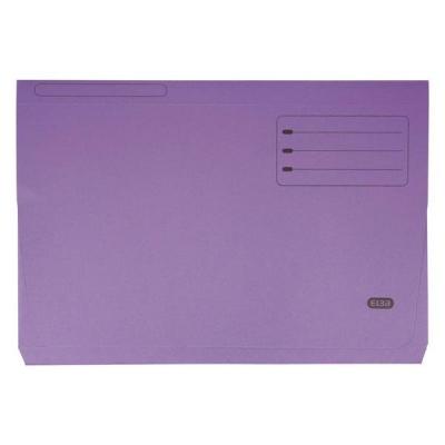 Elba Bright Manilla Document Wallet 285gsm Capacity 32mm Foolscap Bordeaux Ref 100090139 [Pack 25]