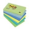 Post-it Colour Notes Pad of 100 Sheets 76x127mm Dreamy Palette Rainbow Colours Ref 655MT [Pack 6]