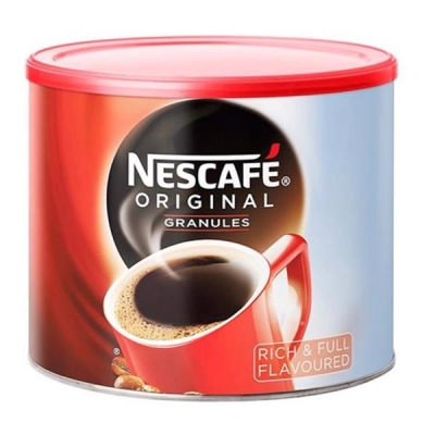 Nescafe Original Instant Coffee Granules Tin 500g Ref 12081372