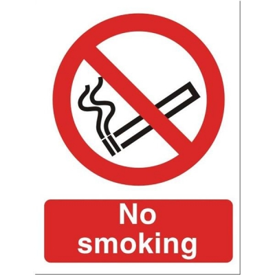Stewart Superior No Smoking Self Adhesive Sign Ref P089PVC