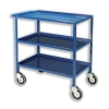 Tray Trolley 3 Tier Blue