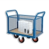 5 Star Truck Balanced Wheel Mesh Panel Blue