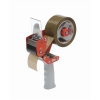 Tape Dispenser Safety Hand Held with Retracting Blade for 50mm Tape