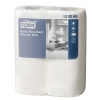 Tork Kitchen Towels Extra Absorbent Recycled 2-ply 230x240mm Sheets 64 per Roll White Ref 120269
