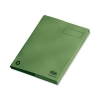 Elba Clifton Flat File with Front Pocket 285gsm Capacity 50mm Foolscap Green Ref 100090179 [Pack 25]