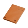 Elba Clifton Flat File with Front Pocket 285gsm Capacity 50mm Foolscap Orange Ref 100090321 [Pack 25]