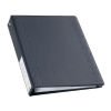 Durable CD and DVD Index 40 Ring Binder with 10 Pockets for 40 Disks A4 Charcoal Ref 522758