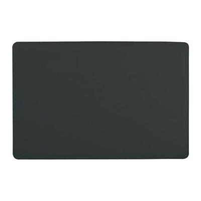 Durable Desk Mat Contoured Edge W650xD520mm Black Ref 7103/01