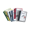 Durable Duraclip Folder PVC Clear Front 3mm Spine for 30 Sheets A4 Assorted Ref 2200/00 [Pack 25]