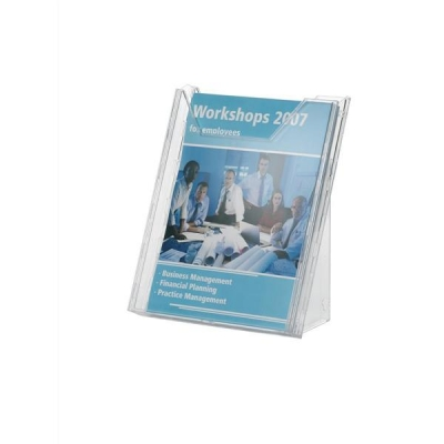 Durable Combiboxx Literature Holder Extendable A4 Clear Ref 8578/19