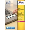 Avery NoPeel Labels Tamper-proof Durable 40 per Sheet 45.7x25.4mm White Ref L6145-20 [800 Labels]