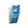 Durable Combiboxx Literature Holder Extendable A4 Clear Ref 8580/19 [Pack 3]
