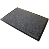 Floortex Mat on Roll Polypropylene Anti Slip Plush Pile 900x3000mm Grey
