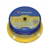 Verbatim DVD+RW Rewritable Disk Spindle 1x-4x Speed 120min 4.7Gb Ref 43489 [Pack 25]